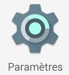 Paramètres sur Android 5.0 Lollipop
