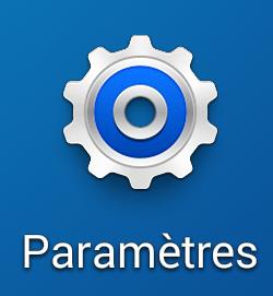 Paramètres sur Android 4.4 et surcouche Samsung TouchWiz